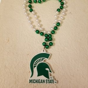 5/$15 Michigan State Necklace